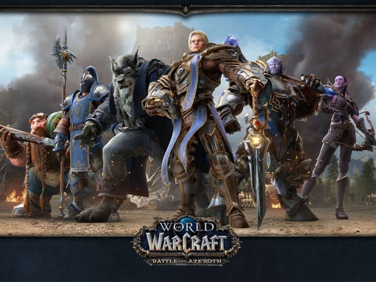 Bfa Hd Wallpaper: World Of Warcraft: Battle For Azeroth Launches On August 14th