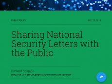 Google shows national security letters for the first time