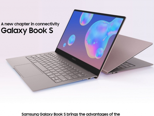 Samsung Galaxy Book S impresses