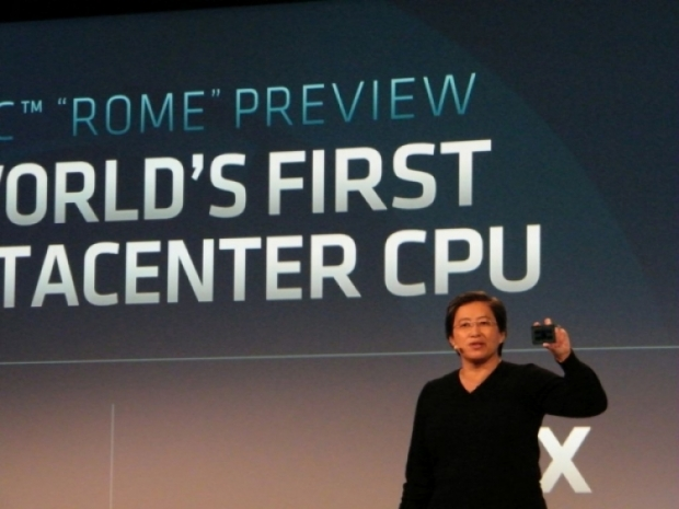 AMD's Rome voltage is high