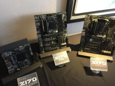 EVGA shows its Z170 motherboard lineup at Computex