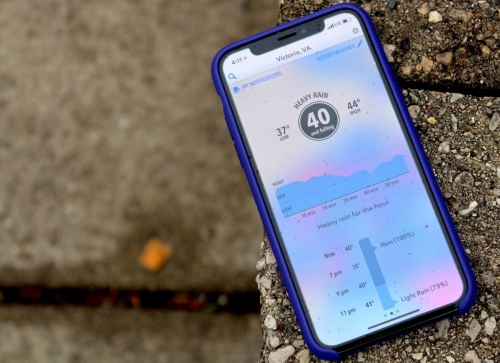 Apple makes sky dark for Android weather watchers