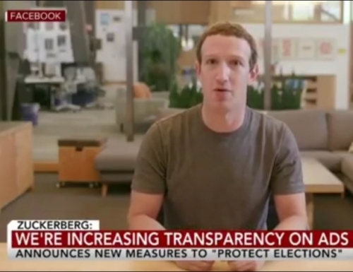 Facebook says it is doubling down for US elections