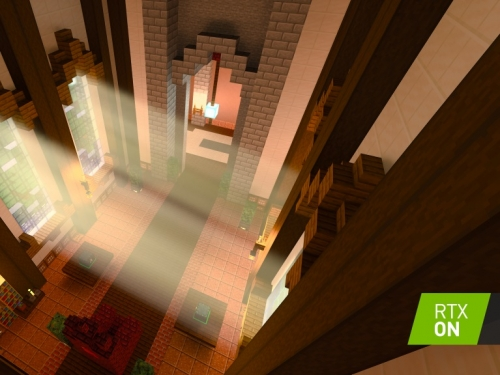Microsoft and Nvidia chuck special effects at Minecraft