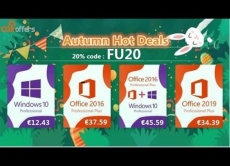 Windows licenses cost only €12 in CDKoffers!
