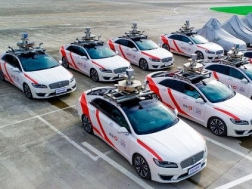 Didi's autonomous taxis take to the streets