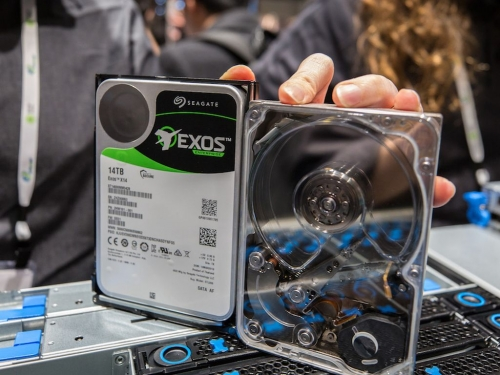 Seagate announces Exos X14 enterprise HDD