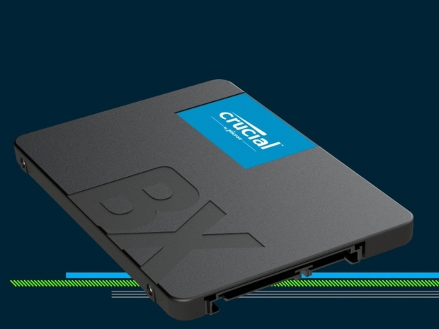 Crucial adds 2TB model to its affordable BX500 SSD series