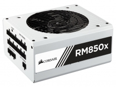Corsair RMx PSU line now available in white