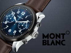 First Wear 3100 smartwatch is $995 Montblanc Summit 2