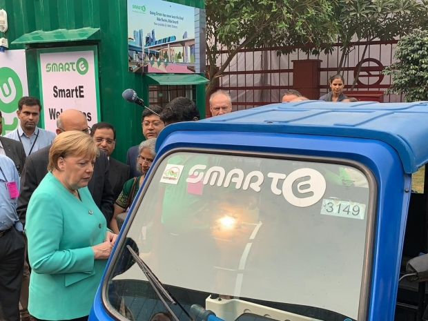 Germany requires all services stations to have charging stations