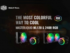 Cooler Master releases ML120R/240R AIO liquid coolers