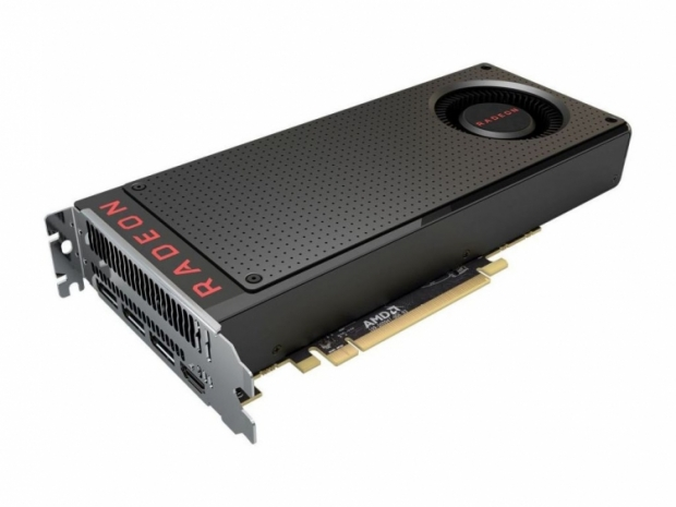 Couple of Radeon RX 480 graphics cards pictured