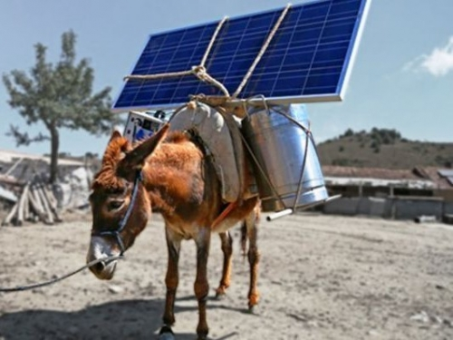 Solar power is now the cheapest energy