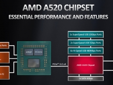 AMD officially announces entry-level A520 desktop chipset