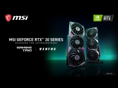 MSI to have a total of 14 different RTX 30 series cards