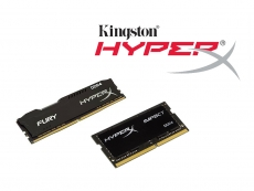 Kingston expands its HyperX Fury and Impact DDR4 memory lineup