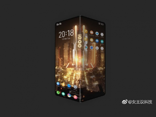 Foldable vivo smartphone spotted online