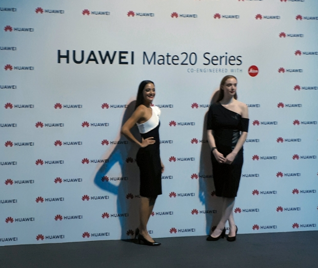 Huawei throws a giant phone party