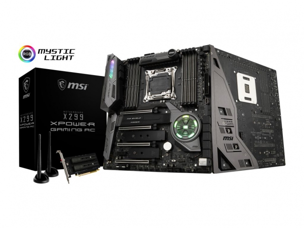MSI shows its flagship X299 XPower Gaming AC motherboard