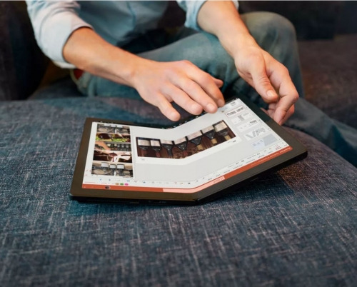 Foldable PC now available