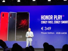 Honor Play goes global with Kirin 970 SoC