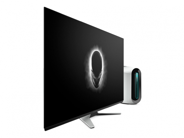 Alienware's 55-inch OLED gaming monitor coming in September