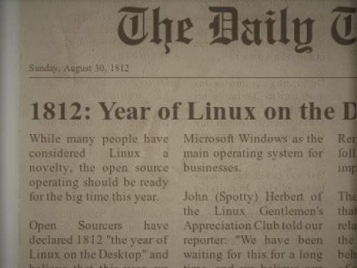 2020 is the year of Linux on the Nintendo 64