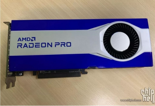 Unidentified Radeon Pro graphics card spotted