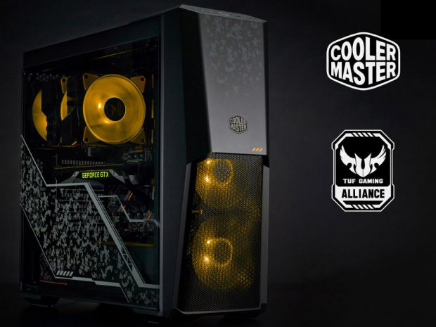 Cooler Master announces its new TUF Gaming line of products