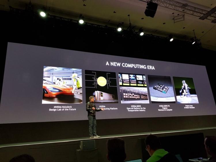 Nvidia announces self driving Pegasus