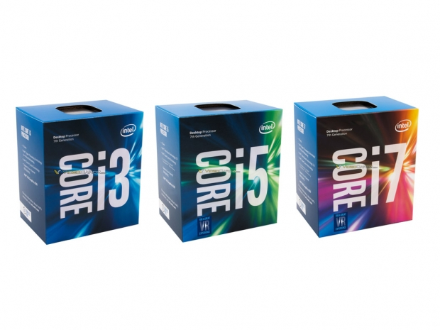 Retail Kaby Lake CPU boxes pictured