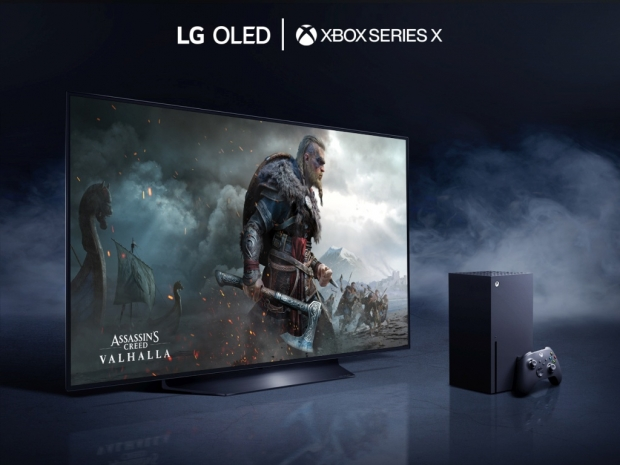 Microsoft markets LG's OLED TVs as best for Xbox Series X