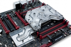 EKWB shows its Rampage V Extreme Monoblock