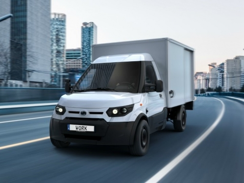 Amazon orders 40 electric delivery vans