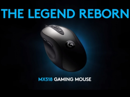 Logitech revives the legendary MX518 gaming mouse