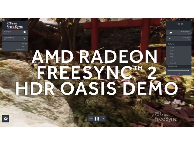 AMD reveals upcoming FreeSync 2 HDR Oasis Demo