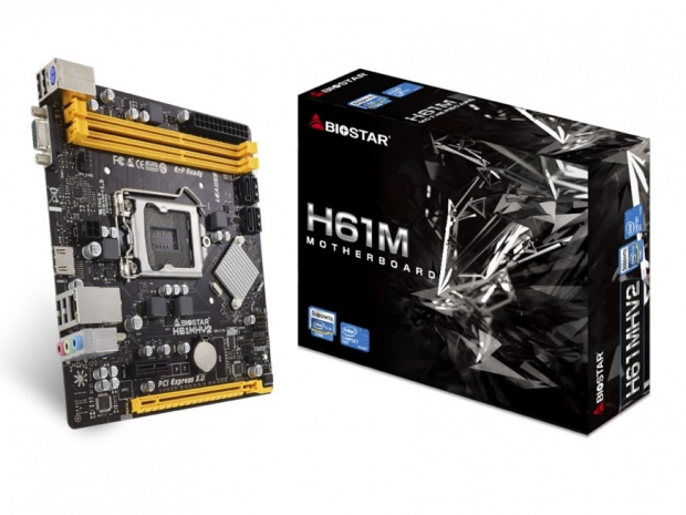Biostar releases new motherboards