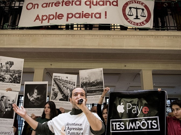 Apple wants the police to protect it from the French