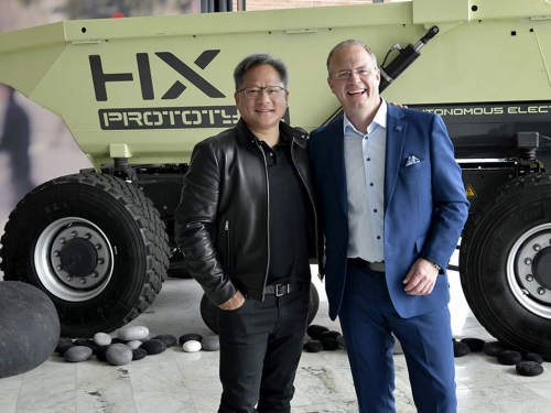 Volvo Group picks Nvidia for its self-driving industry AI vehicles