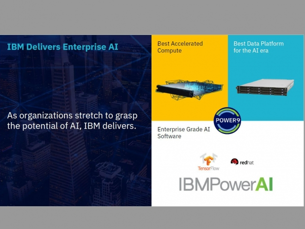 IBM AC922 Power 9 server has 6 Nvidia V100s