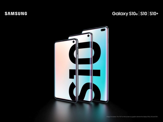 Samsung unveils the new Galaxy S10 lineup